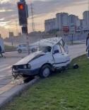 Baskent'te Trafik Kazasi Açiklamasi 2 Yarali