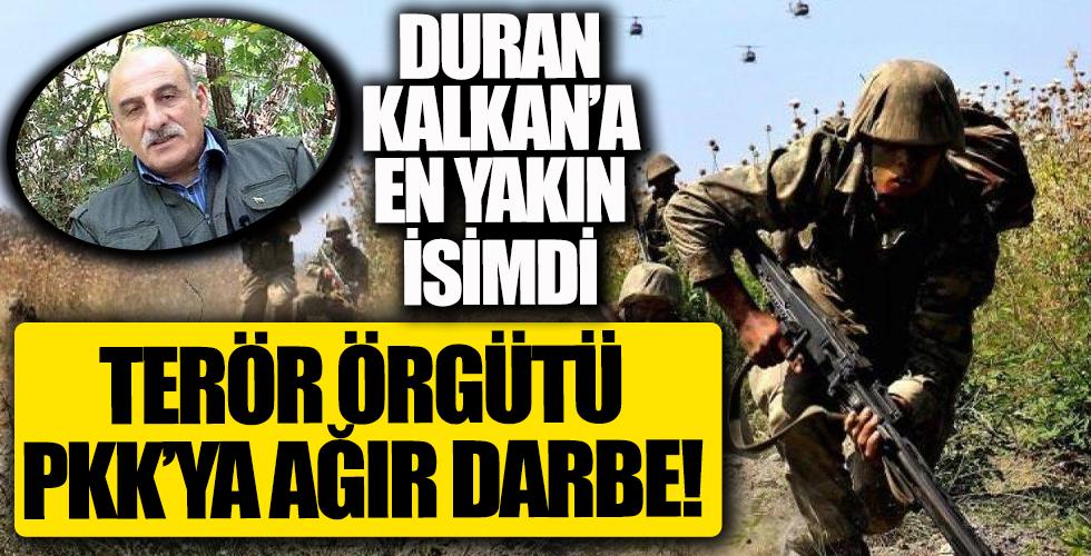 PKK bir darbe daha! Duran Kalkan'a en yakın isimdi