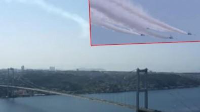 Türk Yıldızları Boğaz'ı selamladı