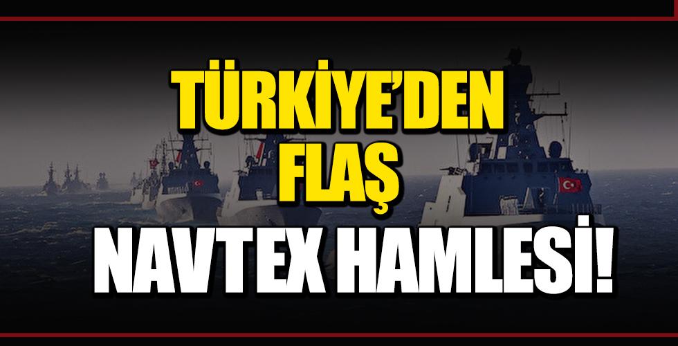 Türkiye'den Flaş Navtex Hamlesi!