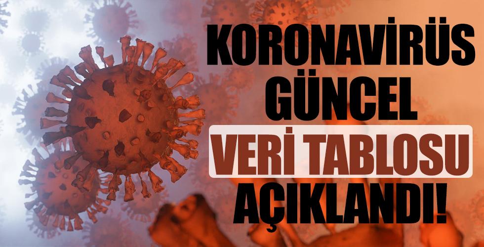 Türkiye'nin 20 Eylül koronavirüs tablosu açıklandı