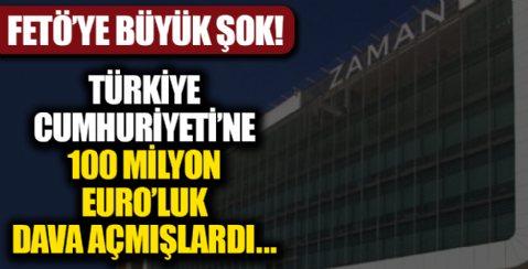 FETÖ'ye büyük şok! Türkiye Cumhuriyeti'ne karşı açtığı 100 milyon euroluk davayı kaybetti