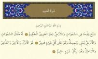 HADİD SURESİ - Hadid Suresinin Anlamı Nedir?  Hadid Suresinin Meali Nedir?  Hadid Suresinin Arapça ve Türkçe Okunuşu
