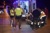 Malatya'da Hafif Ticari Araçla Çarpisan Motosiklet Sürücüsü Yaralandi