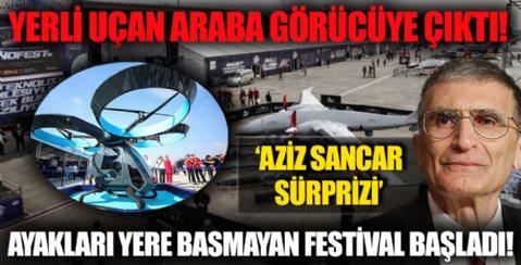Yerli Uçan Araba Görücüye Çıktı! Ayakları Yere Basmayan Festival Başladı!