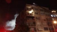 5 Katli Binada Çati Yangini Çikti, Gürsel Aksel Stadi Duman Altinda Kaldi