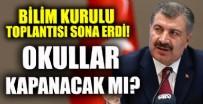 Bilim Kurulu Toplantısı sona erdi! Sağlık Bakanı Fahrettin Koca yazılı açıklama yaptı