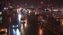 Istanbul'da Saganak Yagis Etkisini Göstermeye Basladi