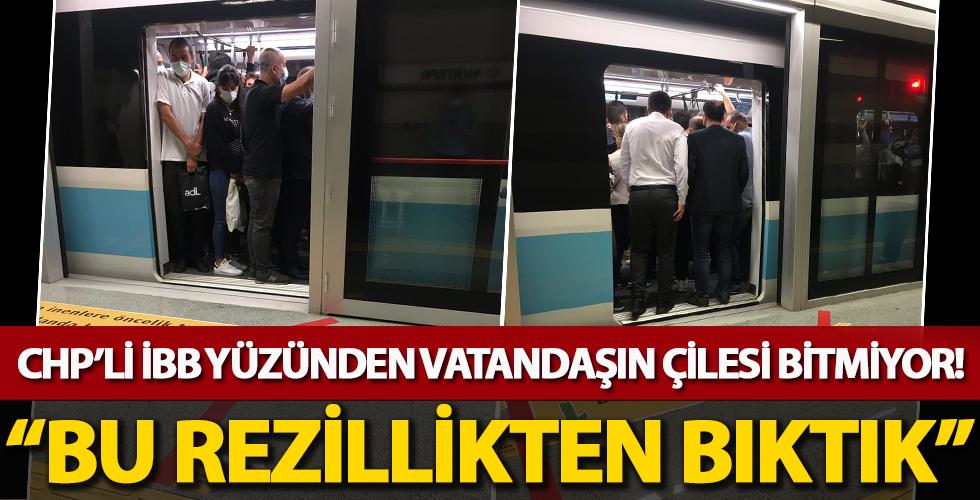 CHP'li İBB Yüzünden Vatandaşın Çilesi Bitmiyor!