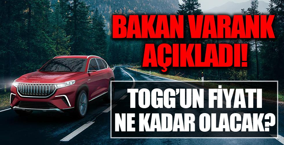 TOGG'un fiyatı ne kadar olacak? Sanayi ve Teknoloji Bakanı Mustafa Varank açıkladı
