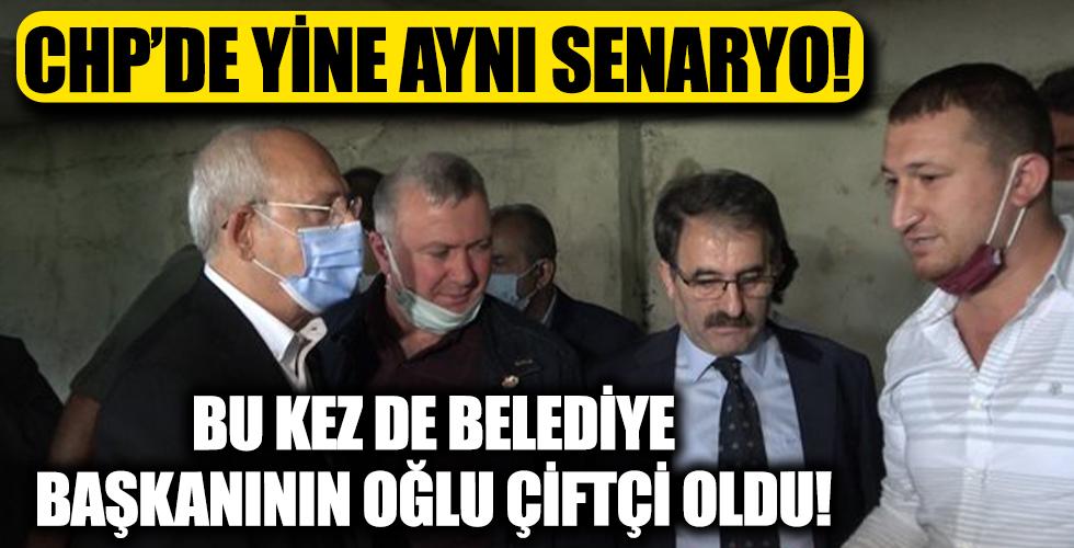 CHP'den yine senaryo: Bu kez de belediye başkanın oğlunu çiftçi yaptılar