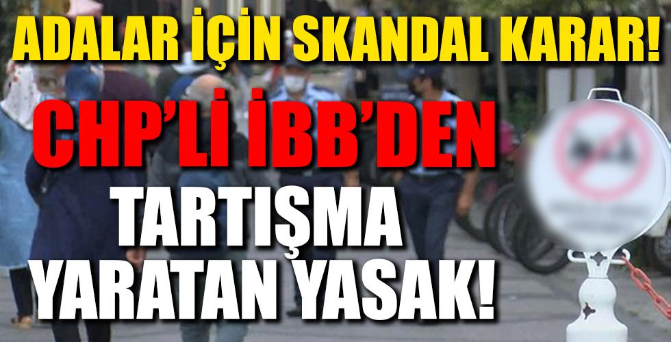 CHP'li İBB'den Skandal Karar!