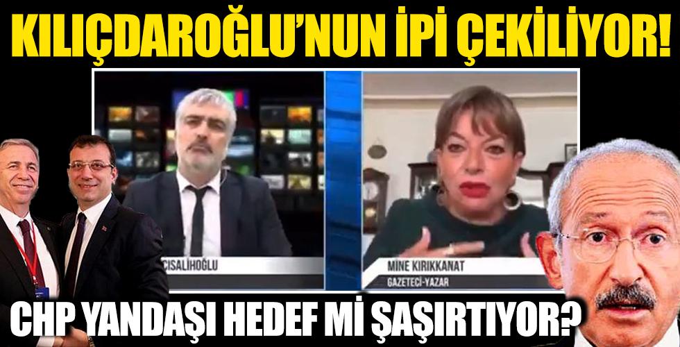 Kılıçdaroğlu'nun İpi Çekiliyor! CHP Yandaşı Hedef Mi Şaşırtıyor?