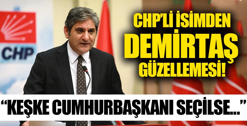 Millet İttifakı'nın adayı Demirtaş mı? CHP'li Aykut Erdoğdu: Keşke Cumhurbaşkanı seçilse