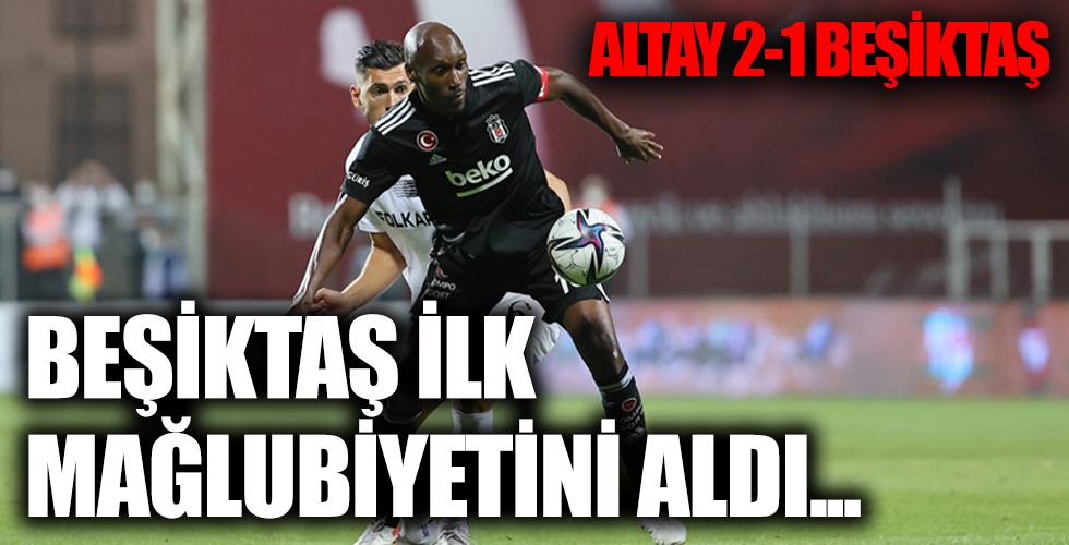 Beşiktaş ve Altay karşı karşıya!