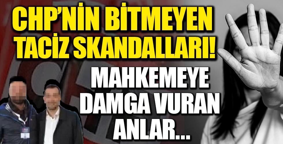 CHP'deki taciz skandalında flaş gelişme! Müştekinin titreyen sesi duruşmaya davga vurdu