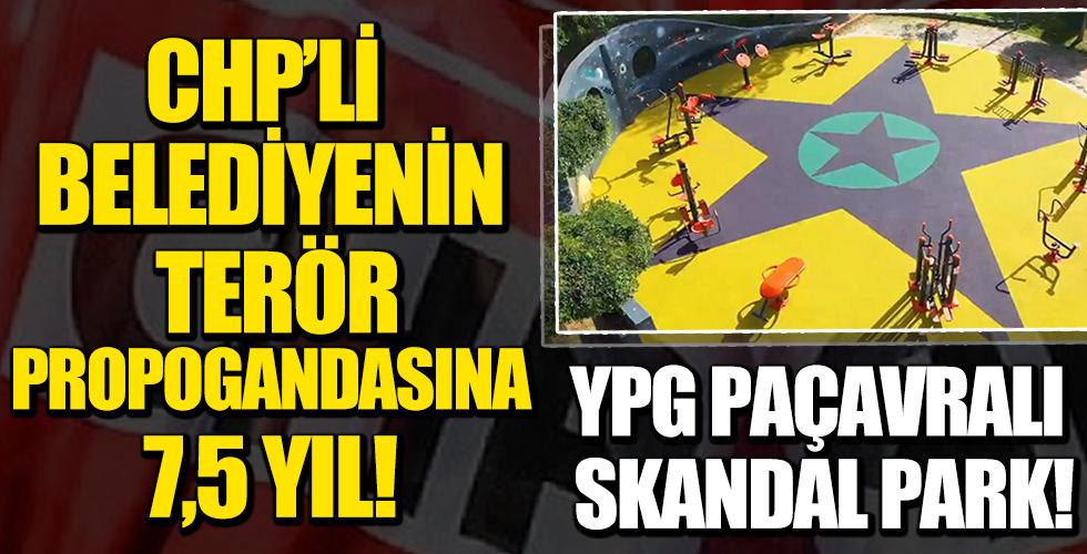 Küçükçekmece'deki çocuk parkında PKK paçavrası: Üç sanığın hapsi istendi