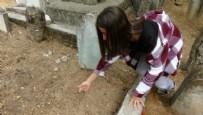 Mezarlıkta korkunç manzara! 2 günlük bebeği canlı canlı gömdüler!