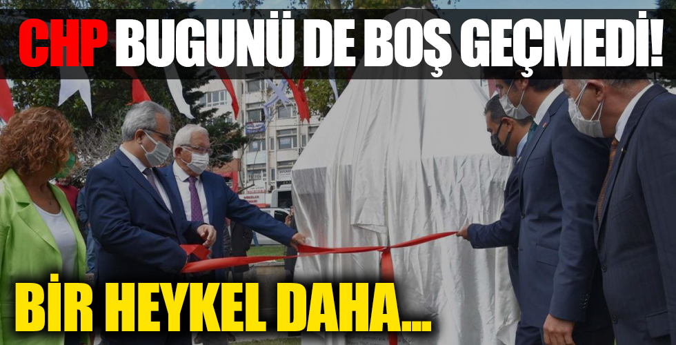 Zonguldak'ta İsmet İnönü'nün adı verilen park ve büst açıldı