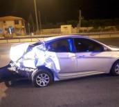 2 Kardes Trafik Kazasinda Yaralandi