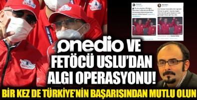 Onedio ve firari FETÖ'cü Emre Uslu'dan montaj görüntüyle algı operasyonu