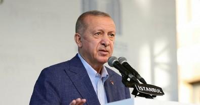 Başkan Erdoğan'dan ABD'ye tepki: Terör örgütlerine yardım ediliyorsa bu bizi üzer