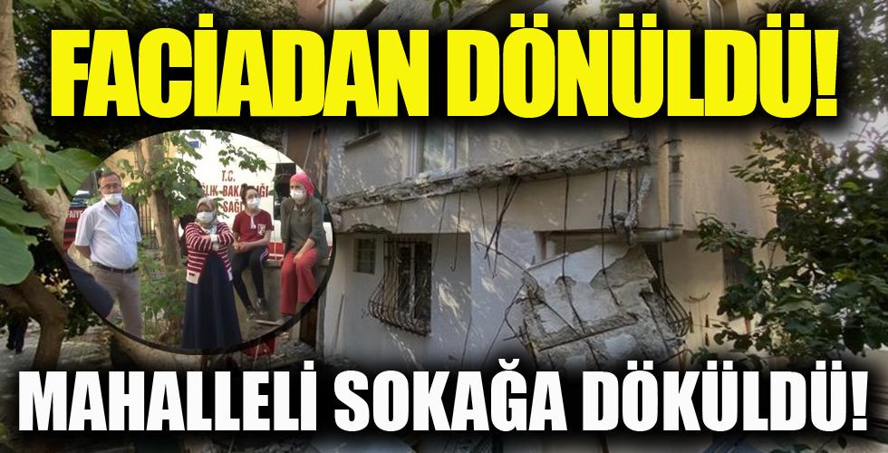 Kadıköy'de hareketli dakikalar! Mahalleli sokağa döküldü