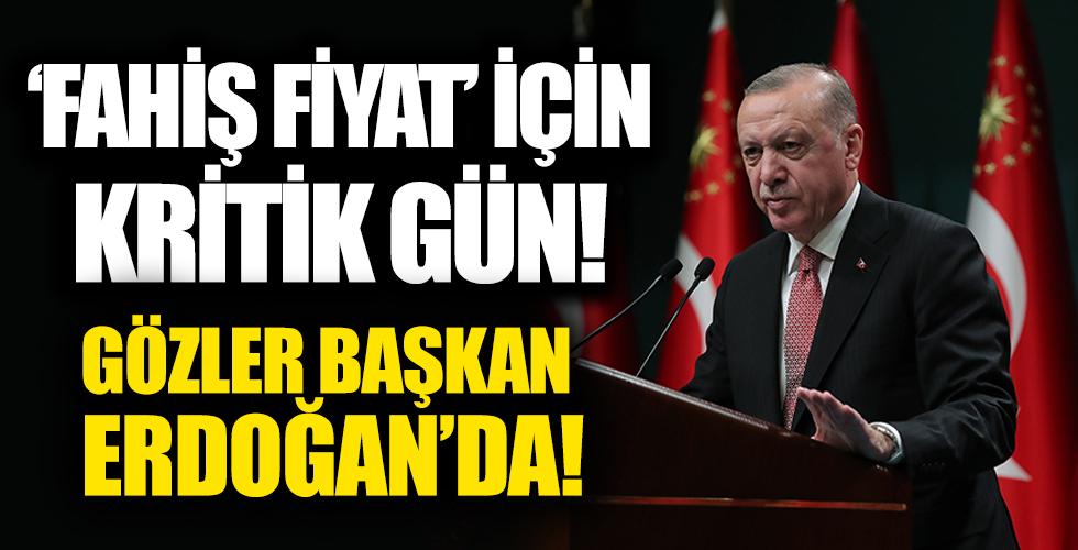 Başkan Erdoğan Kabineyi topluyor: Fahiş fiyat ve kovid salgını masada