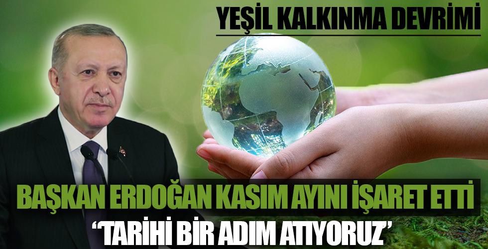 Başkan Recep Tayyip Erdoğan'dan 'Paris İklim Anlaşması' açıklaması: Tarihi bir adım atıyoruz