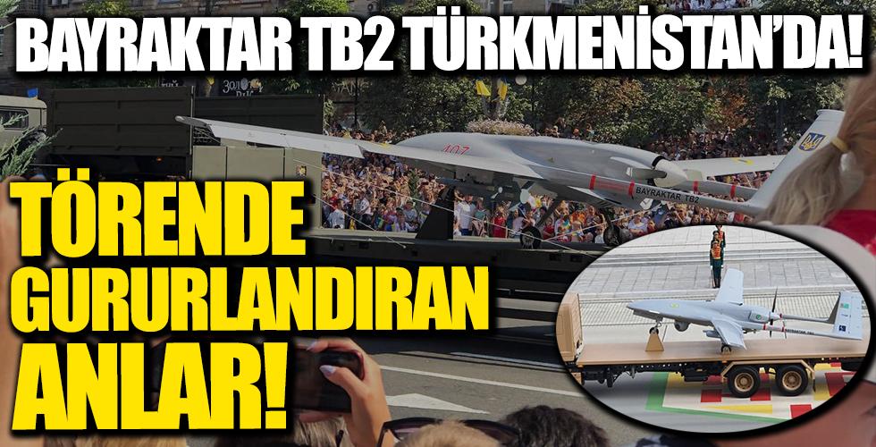 Bayraktar TB2 Türkmenistan Bağımsızlık Günü Kutlamaları'nda!