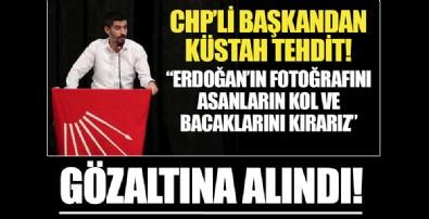CHP Denizli Gençlik Kolları Başkanı Tugay Odabaşıoğlu, gözaltına alındı