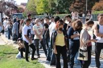 Edirne'de Ögrencilerin 'Kent Kart' Çilesi