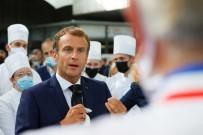 Fransa Cumhurbaskani Macron'a 'Yumurtali' Saldiri