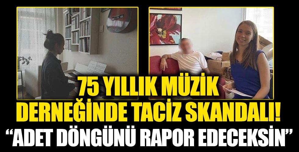 İstanbul Filarmoni Derneği'nde taciz skandalı! 'Adet döngünü bana rapor edeceksin