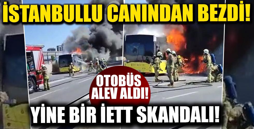 İstanbullu Canından Bezdi! Yine Bir İETT Skandalı!