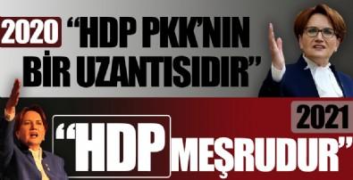 Meral Akşener ve Kemal Kılıçdaroğlu'nun HDP tutarsızlığı