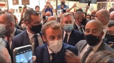 Nereye Gitse Durum Bu! Macron'a Yumurtalı Saldırı!