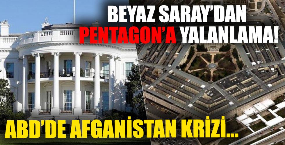 Beyaz Saray ile Pentagon arasında ABD krizi! Açıklamalara yalanlama geldi