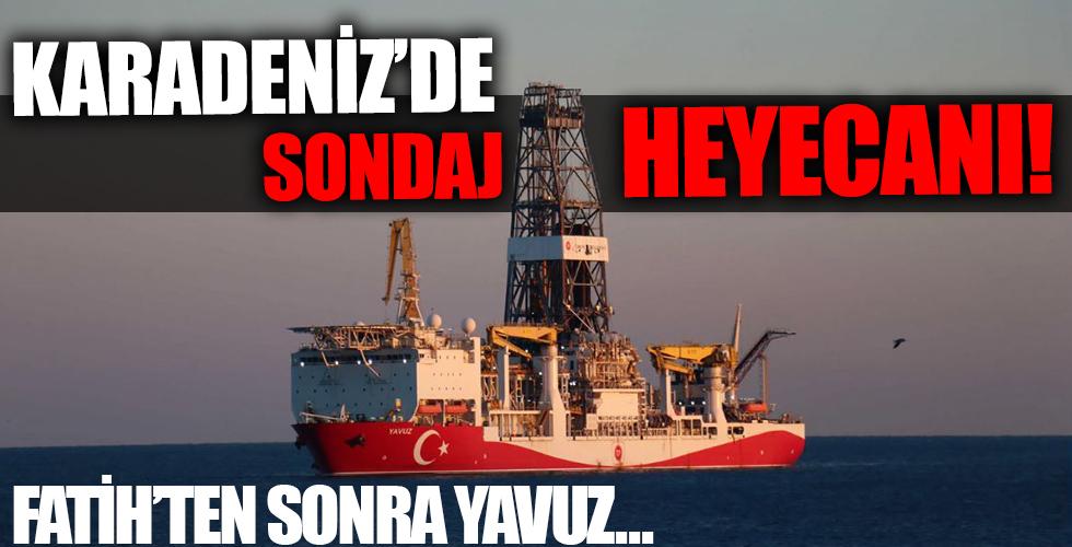 Fatih'ten sonra Yavuz... Karadeniz'de sondaj heyecanı