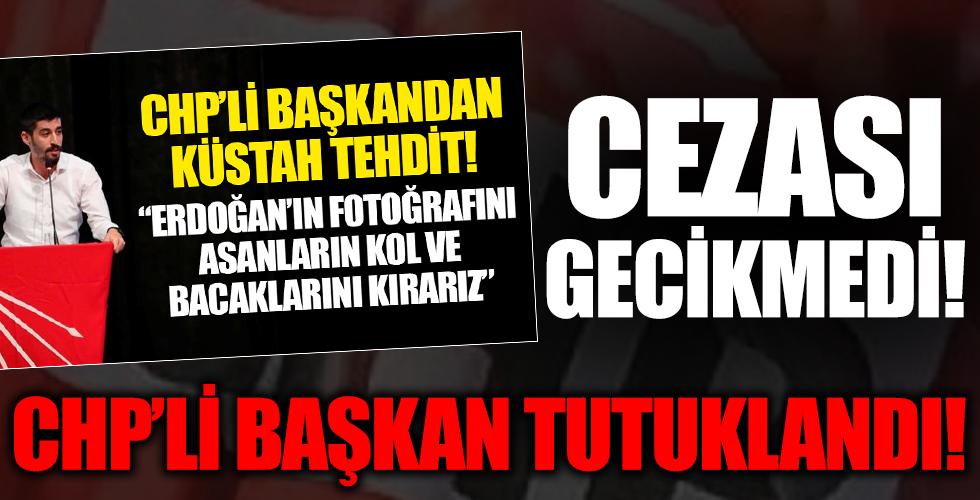 Skandal açıklamalarıyla gündeme gelmişti! CHP Denizli İl Gençlik Kolları Başkanı tutuklandı