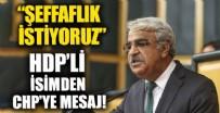 HDP'li Sancar CHP'ye Halk TV'den mesaj verdi: Şeffaf politika istiyoruz kapı arkası pazarlıklar değil