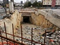 İkitelli - Ataköy metrosunda çalışmalar adeta durdu