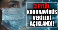 Sağlık Bakanlığı 3 Eylül 2021 koronavirüs vaka, vefat ve aşı tablosunu paylaştı! İşte son durum