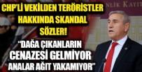 CHP'li vekilden teröristler hakkında skandal sözler! Dağa çıkanların cenazesi gelmiyor, analar ağıt yakamıyor