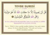 Tevbe Suresi - Tevbe Suresinin Anlamı Nedir? Tevbe Suresi Arapça Okunuşu ve Türkçe Anlamı
