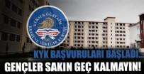 Başvurular e-Devlet'ten! Gençlik ve Spor Bakanı Mehmet Kasapoğlu duyurdu: KYK yeni dönem yurt başvuruları başladı