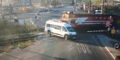 Tekirdağ Ergene'de tren kazası!