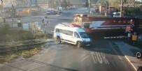 Tekirdağ'da Tren Kazası - Tekirdağ Ergene'de tren kazası!