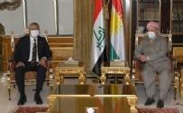 Barzani için 'PKK'ya yardım ediyor' diyen İP'li Ümit Dikbayır CHP'nin ziyaretine ses çıkaramadı