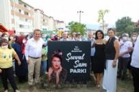 CHP'li Tanju Özcan'dan platonik aşkı Şevval Sam'a park ve konser kıyağı!